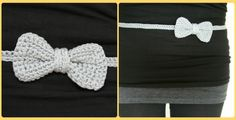 Hook & Taste: Guest Blog: Free crochet pattern belt with bow.