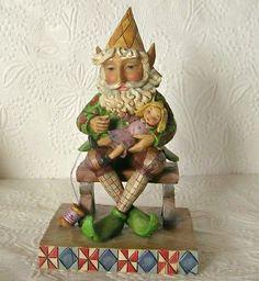 Jim Shore ELVES IN THE WORKSHOP figurine 2007 #jomshorechristmas