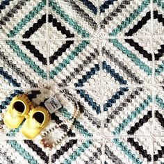 cedar river blanket : april 2016 : crochet : Kat Goldin on ravelry