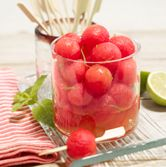 Spiked Watermelon balls... Come on Summer!