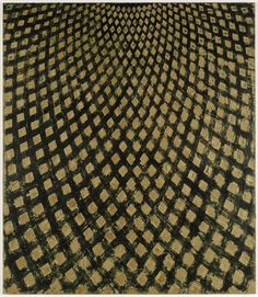 ROSS BLECKNER. Cielo invisible # 3, 1994.