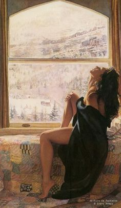Steve Hanks.  I SEE SUCH FREEDOM AND HOPE IN THIS PAINTING!