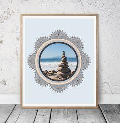 Beach Print Beach Decor Wall Art Photo Prints Beach by MSdesignart