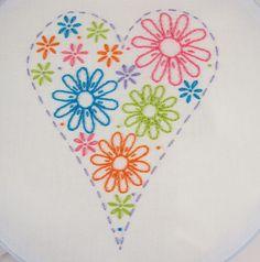 Margarita mano patrón paquete Margarita bordado por KimberlyOuimet