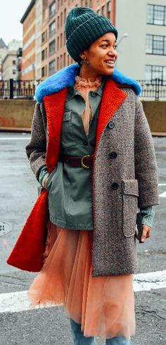 Tamu McPherson, Street Style, Tommy Ton, NYFW, New York Fashion Week