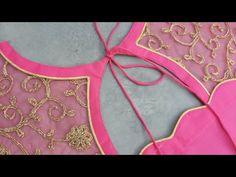 Churidhar Neck Designs, Neck Designs For Suits, Dress Neck Designs, Patch Work Blouse Designs, Simple Blouse Designs, Stylish Blouse Design, Saree Blouse Neck Designs, Kurta Neck Design, Blouse Designs Catalogue