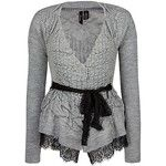 BKE Boutique Ruched Cardigan Sweater