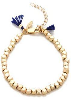 Shashi Nugget Clasp Bracelet on shopstyle.com