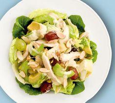 Chicken| Avocado and Grape Salad - Annabel Langbein Recipes