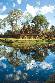 "Angkor Temple, Cambodia.  ""The attention of a traveller, should be particularly turned, in the first place, to the various works of Nature, to mark the distinctions of the climates he may explore, and to offer such useful observations on the different productions as may occur."" ~ William Bartram"