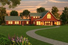 House Plan 888-1 - cool design, open, airy. Still has the rooms I want. Need a big lot for this house.