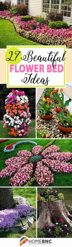 Flower bed ideas don't have to be predictable. Discover the best designs that can help transform your yard from boring to something special. #FlowerGarden