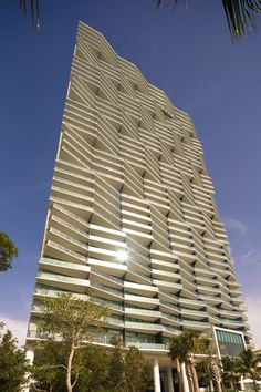 Sixth place for the Emporis Skyscraper Award went to Icon Bay, by Arquitectonica. Based in Miami,. Miami Architecture, Commercial Architecture, Concept Architecture, Sustainable Architecture, Beautiful Architecture, Architecture Details, Chinese Architecture, Futuristic Architecture, Building Facade