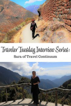 Interview with travel blogger Sara of Travel Continuum. Sara talks about her travel start, her inspirations, and what she takes on a trip. #travelblogger #interview