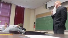 NEWS/ Students Pull One of the Best April Fools' Day Pranks We've Ever Seen on Their College Professor Best April Fools, April Fools Day, New Students, College Students, Best Pranks Ever, Funny April Fools Pranks, Funny Watch, Prank Videos, Gymnastics Girls