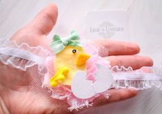 ~*Easter Chickie*~ Spring Headband or Clip - Perfect for Easter basket and Easter outfits - Love the ruffle headband. Use LLFAN4 for a discount