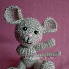 Amigurumi Crochet Pattern Morris The Mouse