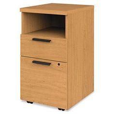 HON 10500 Mobile 2-Drawer Pedestal Cabinet Finish: