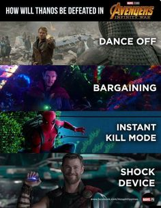 """I vote for dance off. Starlord leading the guys to """"Uptown Funk""""."""
