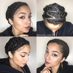 19 Gorgeous Natural Hairstyles for When You Want to Look Glam