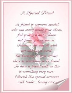 You are my special friend friendship pinterest friendship people also love these ideas stopboris Image collections