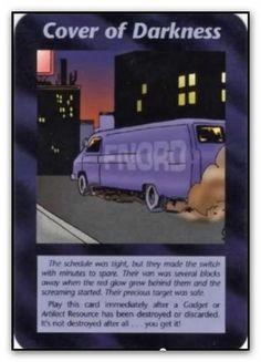 Illuminati Card Cover of Darkness