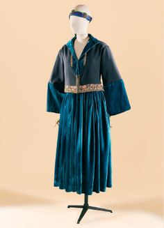 1921 outfit by Paul Poiret