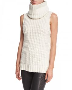Tahari Mary Kate Sleeveless Knit Sweater Antique Elie   Clothing