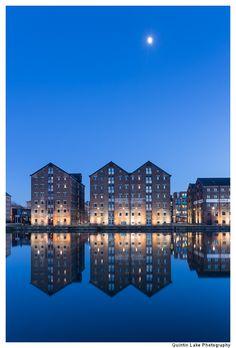 Gloucester Historic Docks and Warehouses, Gloucester, UK.