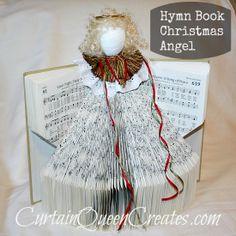 Hymn Book Christmas Angel
