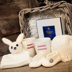Gifts for mum, dad & baby.