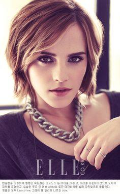Emma Watson     haircut inspiration; this shape but longer
