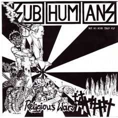 subhumans shirt - Religious wars