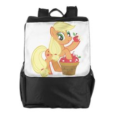 40bfbe4865be Applejack My Little Pony Daypack Travel Backpack For Men Women Boy Girl    You can get
