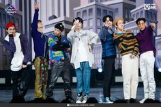 191107 Mnet M! Got7 Youngjae, Kim Yugyeom, Bambam, Mark Jackson, Jackson Wang, Photo Grouping, Pop Bands, Mark Tuan, Jinyoung