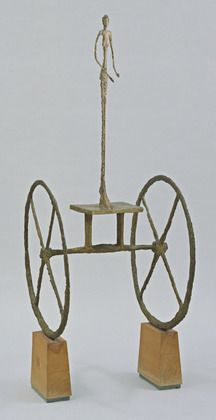 Chariot by Alberto Giacometti  https://www.artexperiencenyc.com/social_login/?utm_source=pinterest_medium=pins_content=pinterest_pins_campaign=pinterest_initial