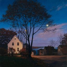"""urgetocreate: """"Linden Frederick, Attic, 2010, oil on linen, 40 x 40 in. """""""