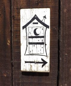 Cute bathroom signs for your Ranch wedding...totally unique and hand-painted just for you!