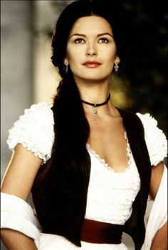 Spanish Rose- katherine Zeta Jones in Zorro. I wish i lived back then