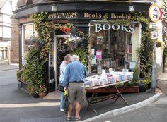Buxton, Derbyshire  Scrivener's Bookshop. by Marian Byrne