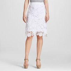 Women's Crochet Lace Skirt - XOXO (Juniors')