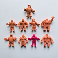 Vintage M.U.S.C.L.E. MEN 9 FIGURE TOY LOT YSNT Muscle Flesh Mattel Kinnikuman Muscle, Toys, Men, Vintage, Vintage Comics, Games, Toy, Guys