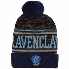 4b3f0d066763a2 Ravenclaw Ravenclaw Logo, Pom Pom Hat, Beanie Hats, Blue Grey, Caps Hats