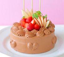 誕生日ケーキレシピ「バースデーチョコレートケーキ」