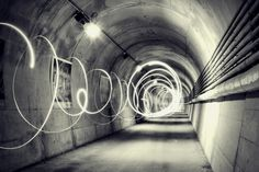 Circle Lights in a Tunnel by Andrea Di Mauro on 500px#bianco e nero #black \ and\ white #black and white #blackandwhite #bw #circle #circular #d60 #exposure #infinite #light #lighthouse #lightning #lights #long exposure #longexposure #minimal #nikon #photographer #photography #prospective #still #street #tunnel #urban #art