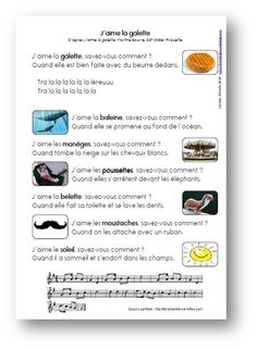 J'aime la galette, M. Bourre - Les docs d'Estelle