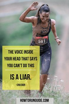 Health Inspiration 6 Inspirational Running Quotes for Running Motivation. Need some motivation today? Read these quotes and get some tips on how to get your motivation back asap. Running Humor, Running Workouts, Running Tips, Gym Humor, Fun Workouts, Funny Running Quotes, Trail Running Quotes, Quotes About Running, Distance Running Quotes