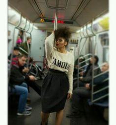 Subway glamour