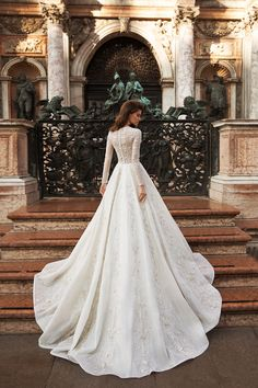 24 Modest Wedding Dresses Of Your Dream Wedding Dress Sleeves, Long Sleeve Wedding, Modest Wedding Dresses, Elegant Wedding Dress, Bridal Dresses, Wedding Gowns, Bridesmaid Dresses, Wedding Cakes, Wedding Hijab
