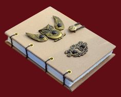 Coptic Stitch Steampunk Journal by MamayoJournals on Etsy, $28.00